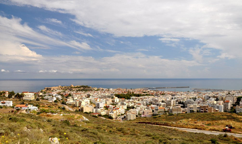 View of Rethymno in Crete 001