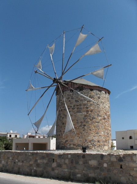 Windmill Antimahia Kos