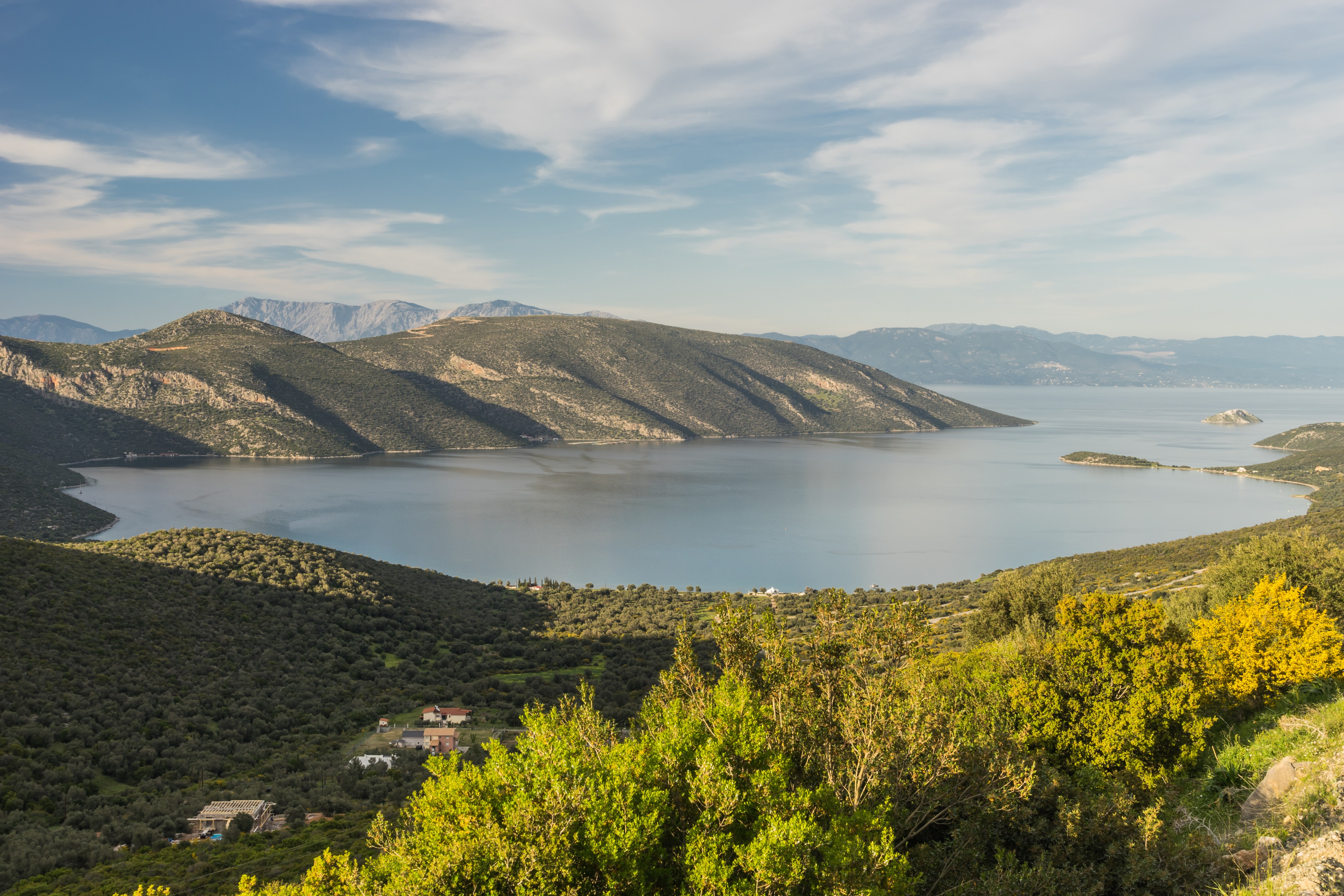 Bay of Skroponeria, Boeotia, central Greece
