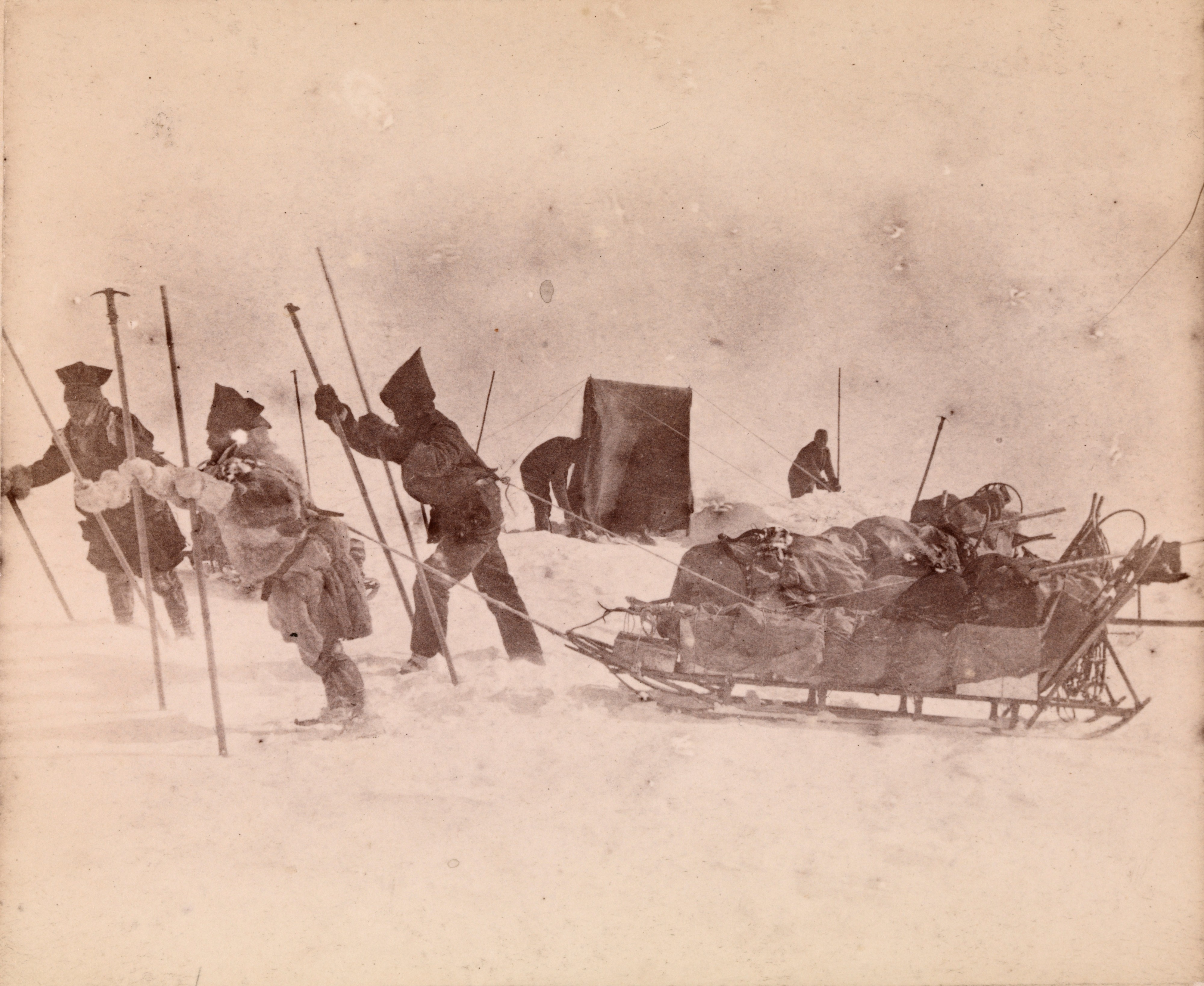 Nansen's Greenland expedition crossing