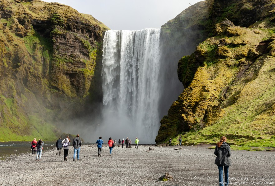 Skogafoss, Iceland, photographed in May 2019 by Serhiy Lvivsky, picture 1