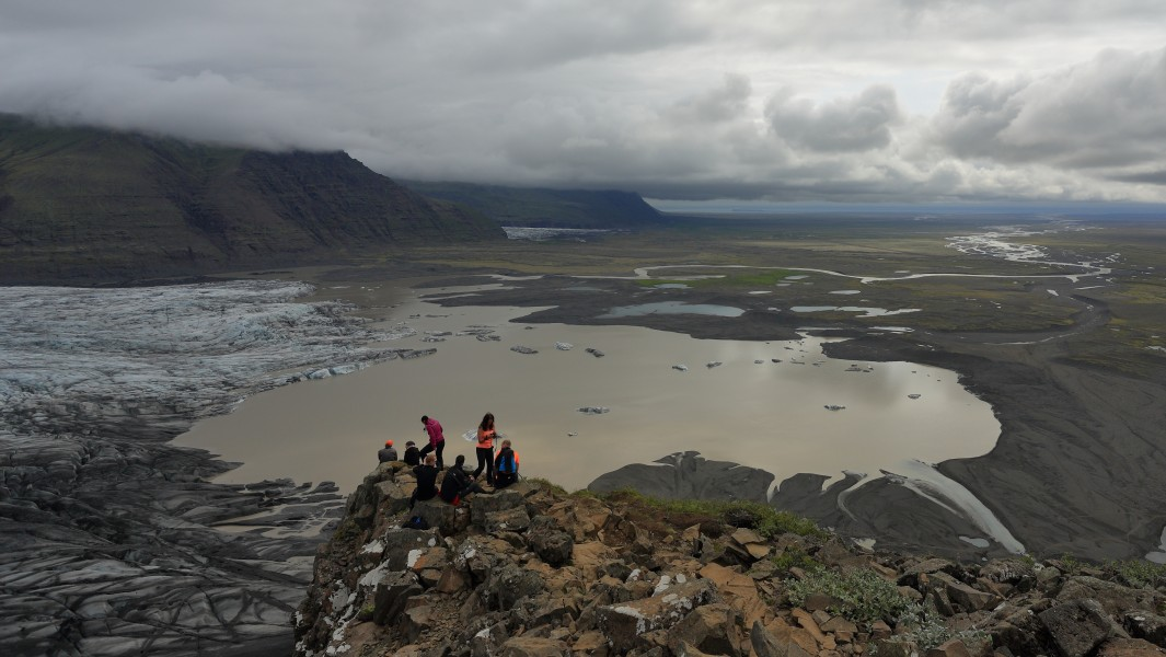 View from Skaftafell National Park July 2014 -2