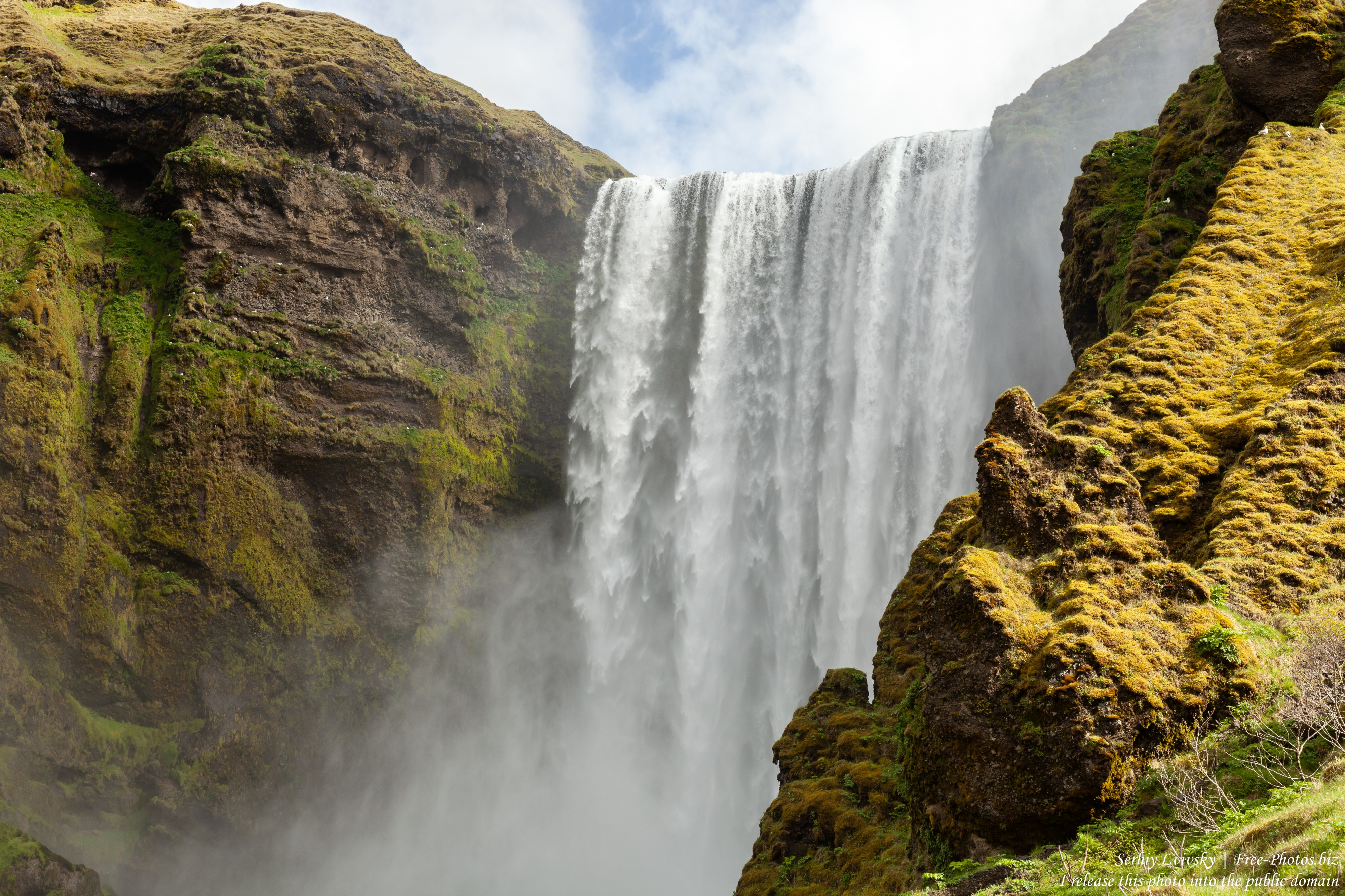Skogafoss, Iceland, photographed in May 2019 by Serhiy Lvivsky, picture 2