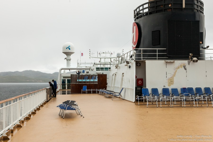 MS Trollfjord ship of Hurtigruten in Finnsnes, Norway, photographed in June 2018 by Serhiy Lvivsky, picture 19