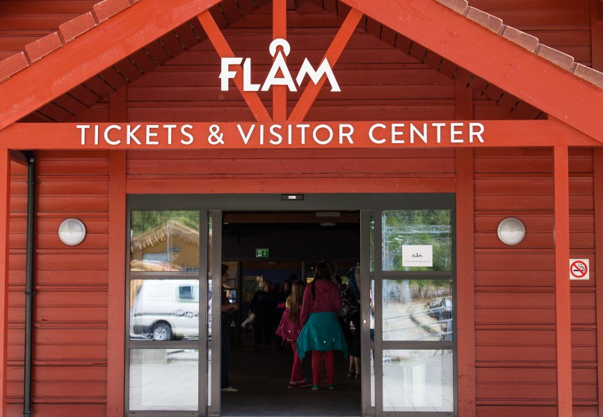 Flåm visitor center, Norway, June 2014, picture 14