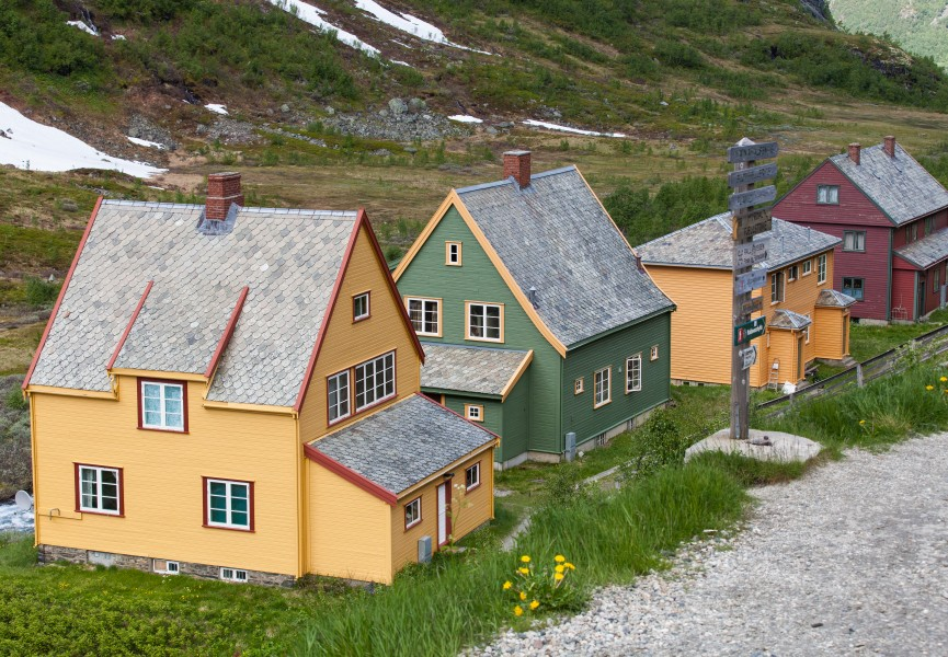 wooden houses in Norway, near Flåm, June 2014, picture 46
