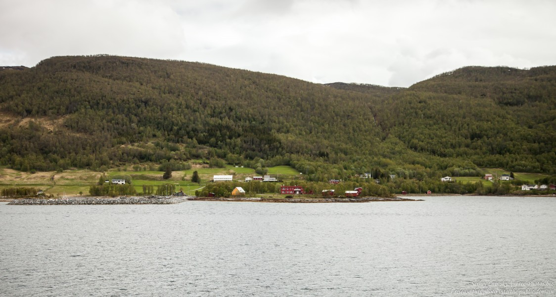 way between Finnsnes and Tromso, Norway, photographed in June 2018 by Serhiy Lvivsky, picture 1