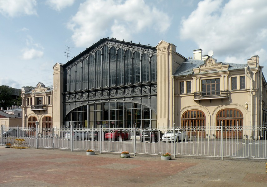 Former Warsaw Railway station in SPb