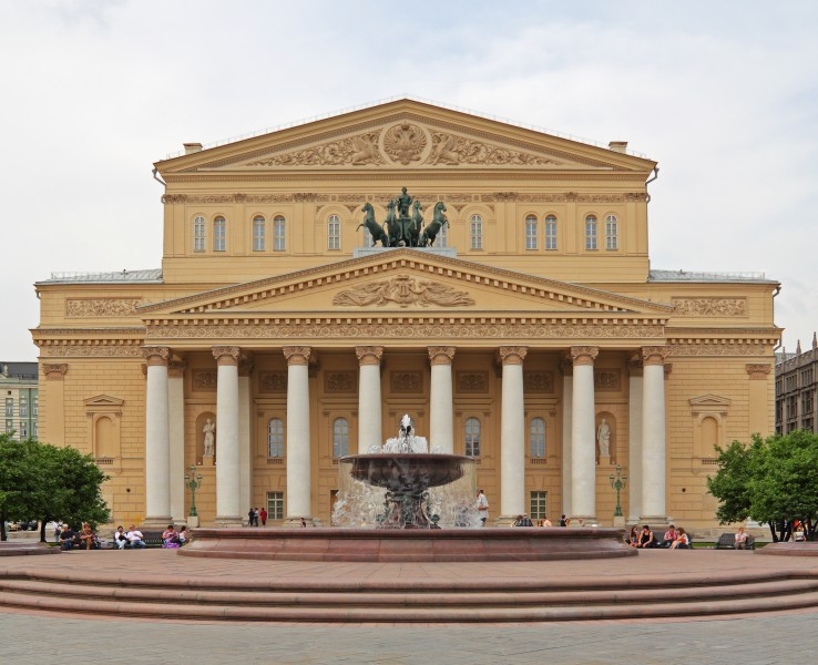 Moscow 05-2012 Bolshoi after renewal