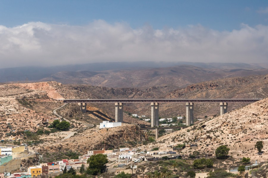 Autovia bridge, Almeria, Spain