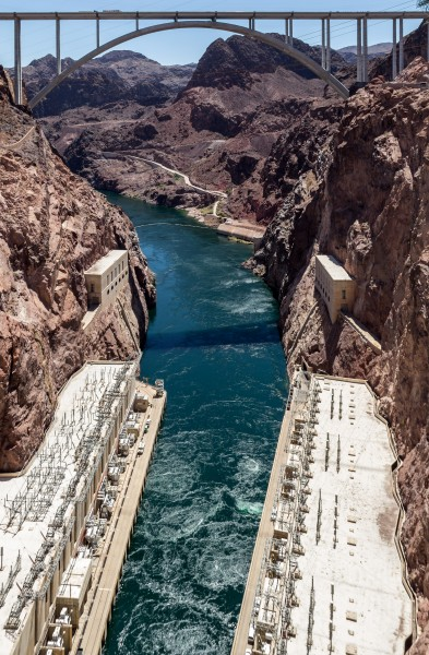Hoover Dam, Nevada (Arizona-Nevada, USA) -- 2012 -- 6129