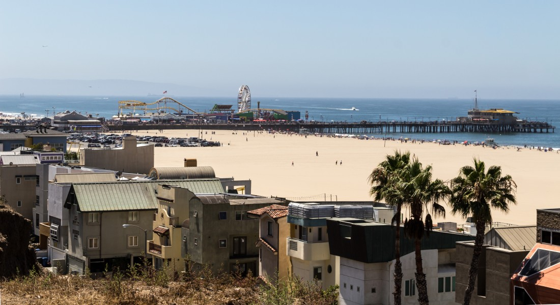 Los Angeles (California, USA), Santa Monica Beach -- 2012 -- 5301