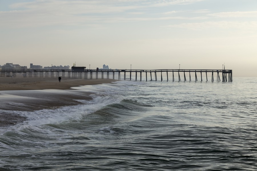 Ocean City beach and pier MD2