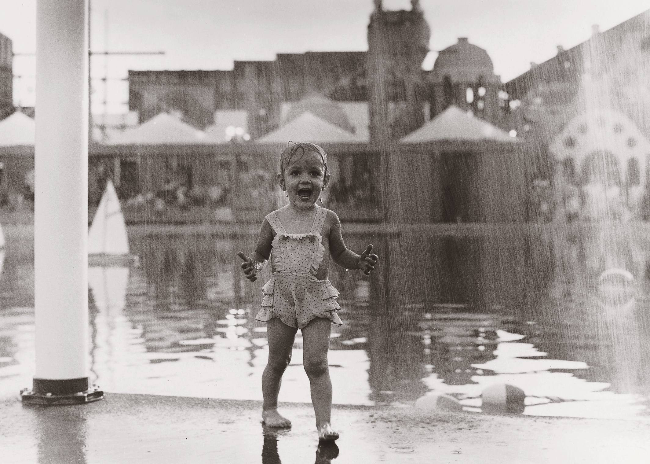 World Fair New Orleans Rain Child