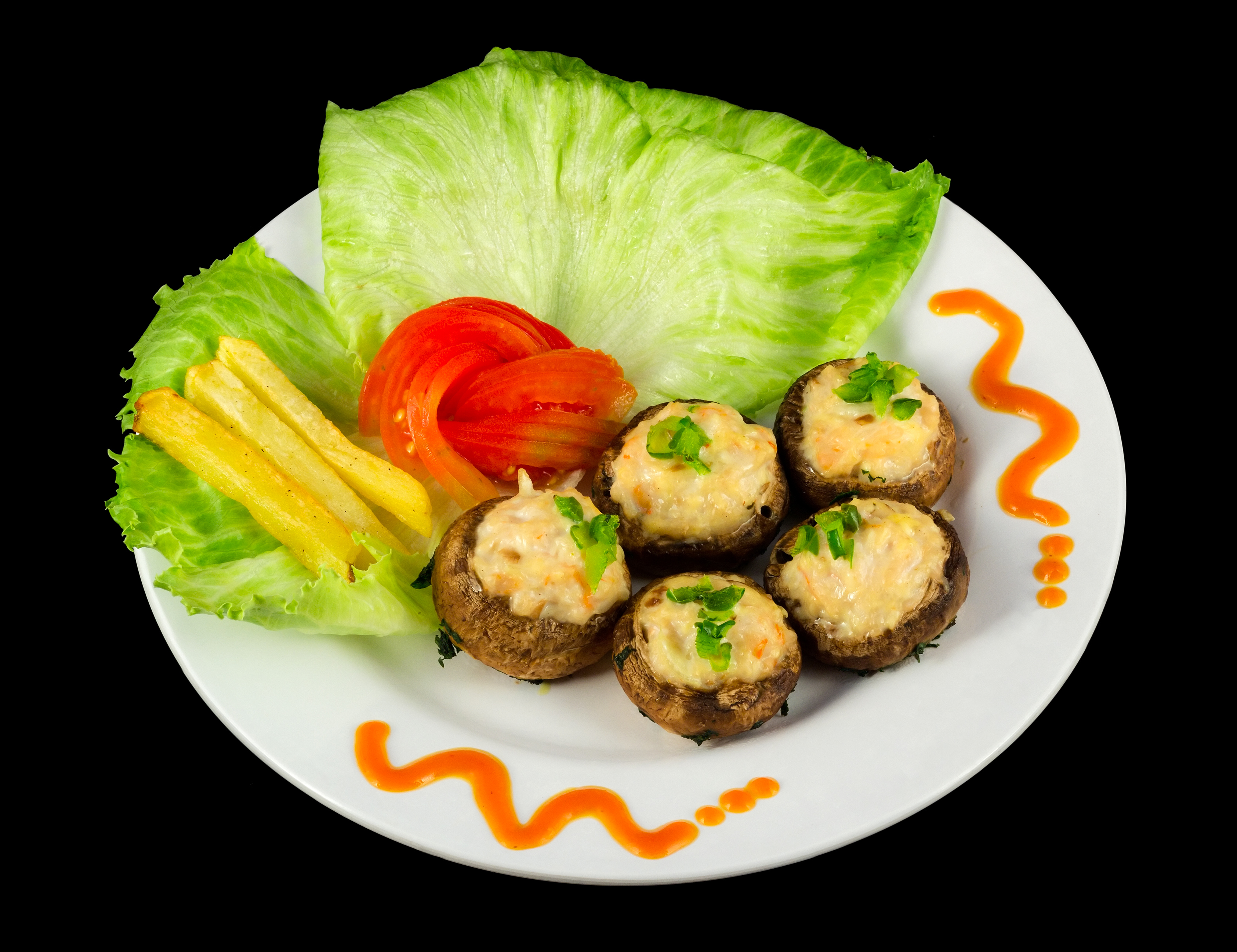 Stuffed mushrooms, 2015-06-25