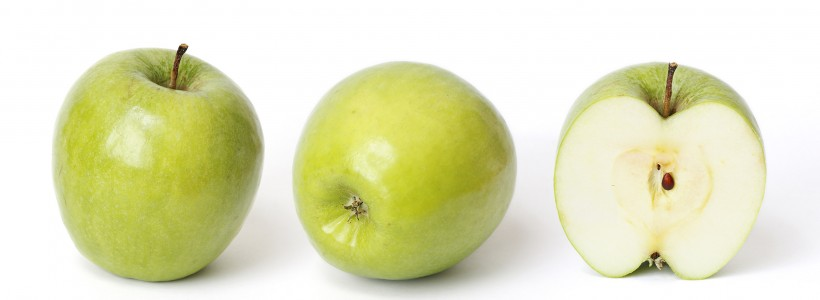 Granny smith and cross section 02