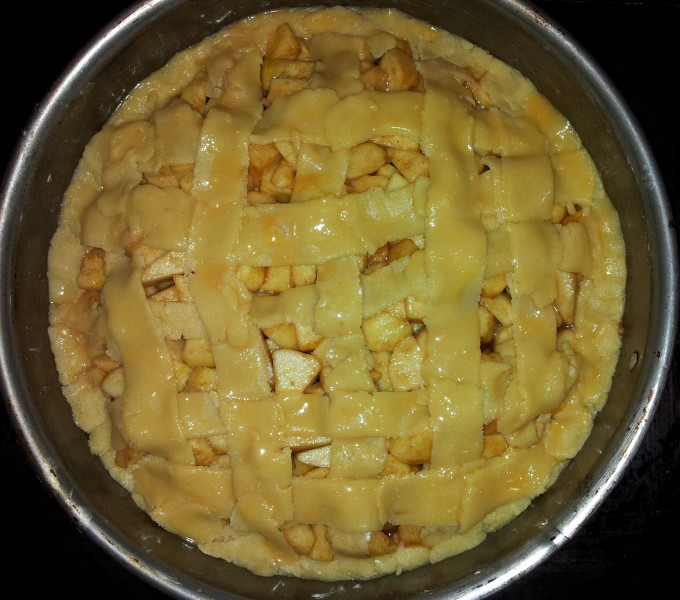 Apple Pie - after baking