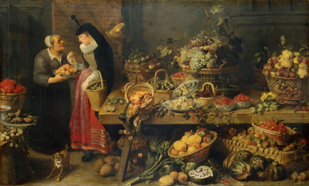 Frans Snyders - Fruit Stall - WGA21518