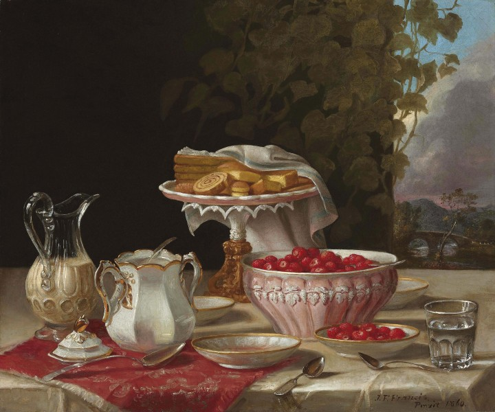 John F. Francis - Strawberries and Cakes