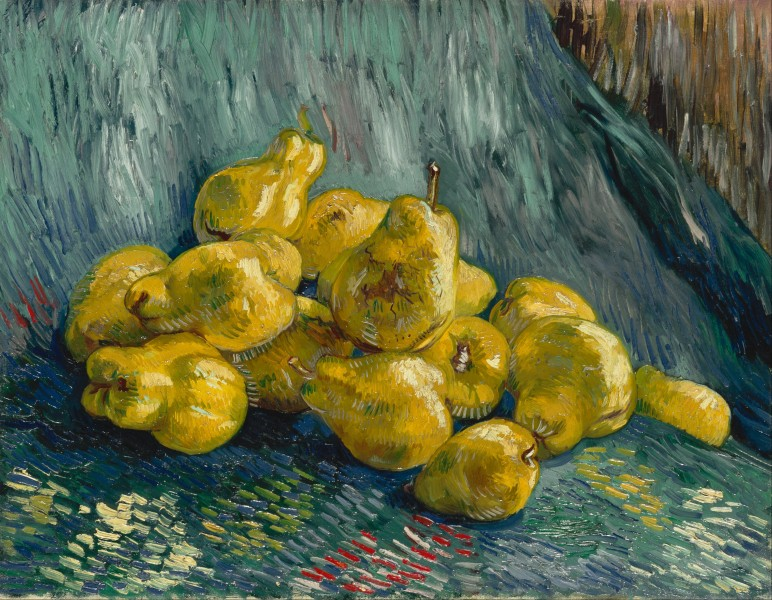 Vincent van Gogh - Still Life with Quinces - Google Art Project
