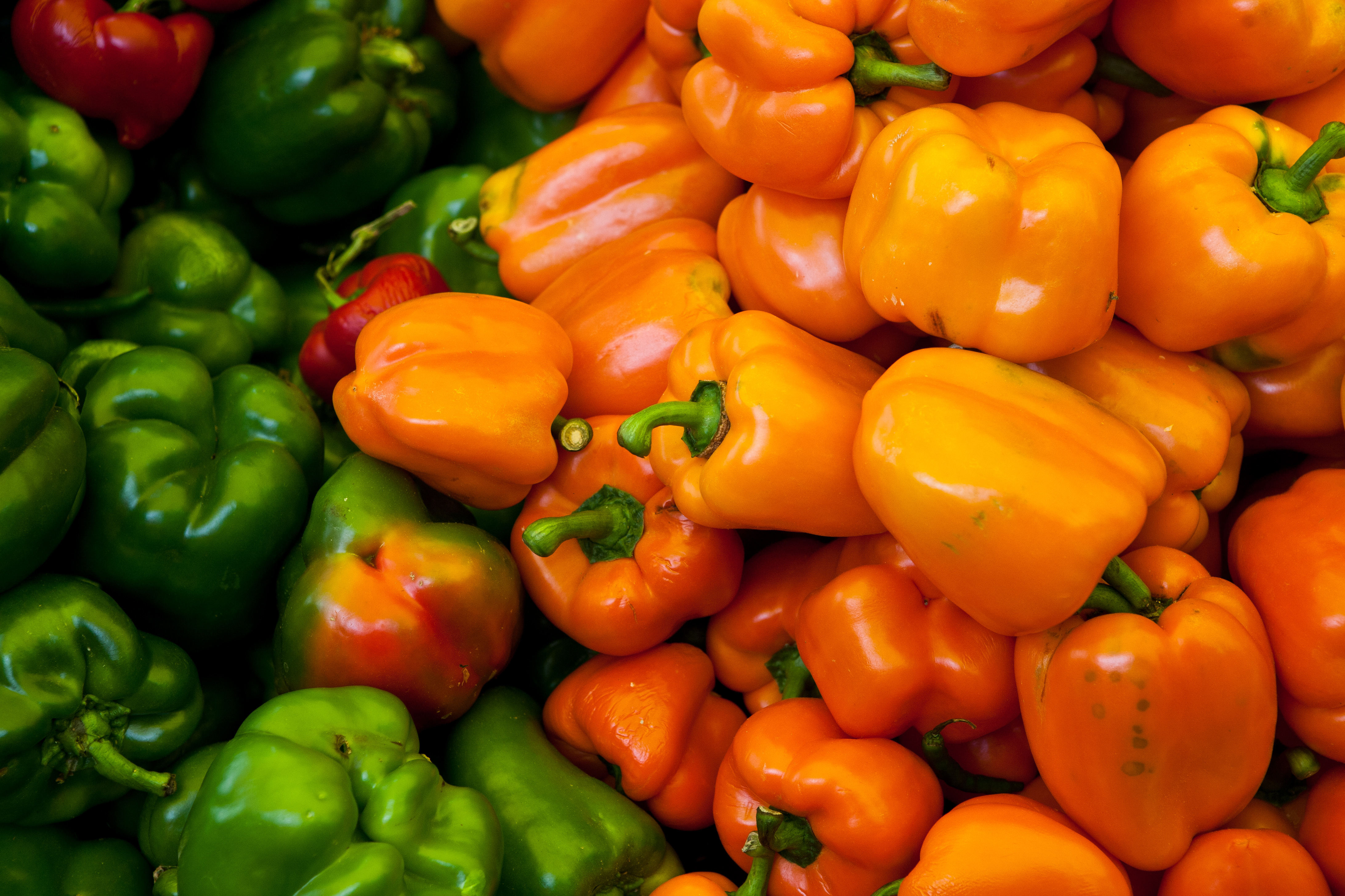 Chiles in Tenancingo Market