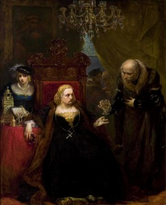 Jan Matejko-Poisoning of Queen Bona