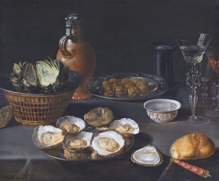 Beert Still-life with artichokes