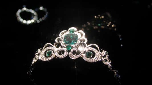 WLA hmns Emerald and Diamond Tiara