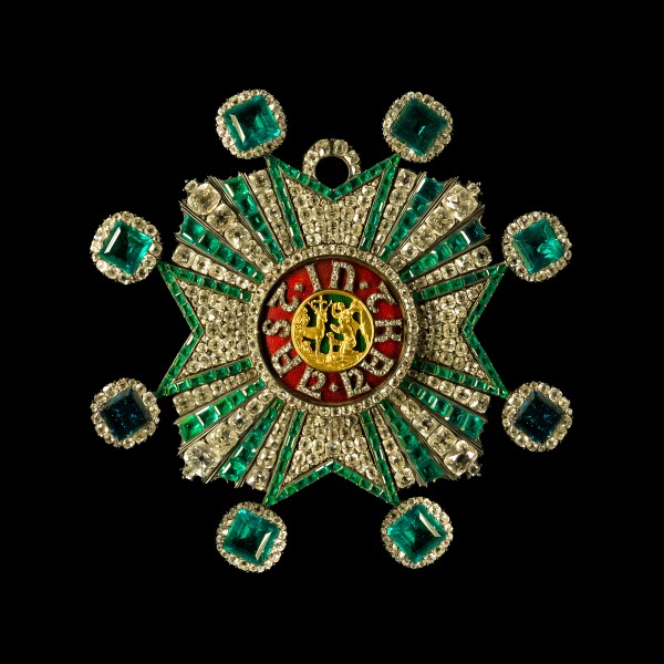 Star bavarian Order of Saint Hubert Schatzkammer Residenz Munich