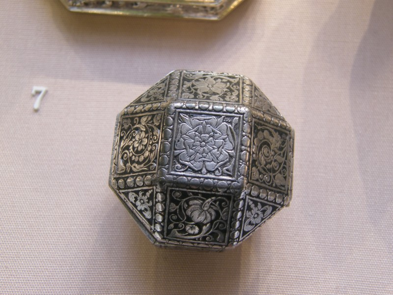 BLW Comfit or Spice box, around 1630
