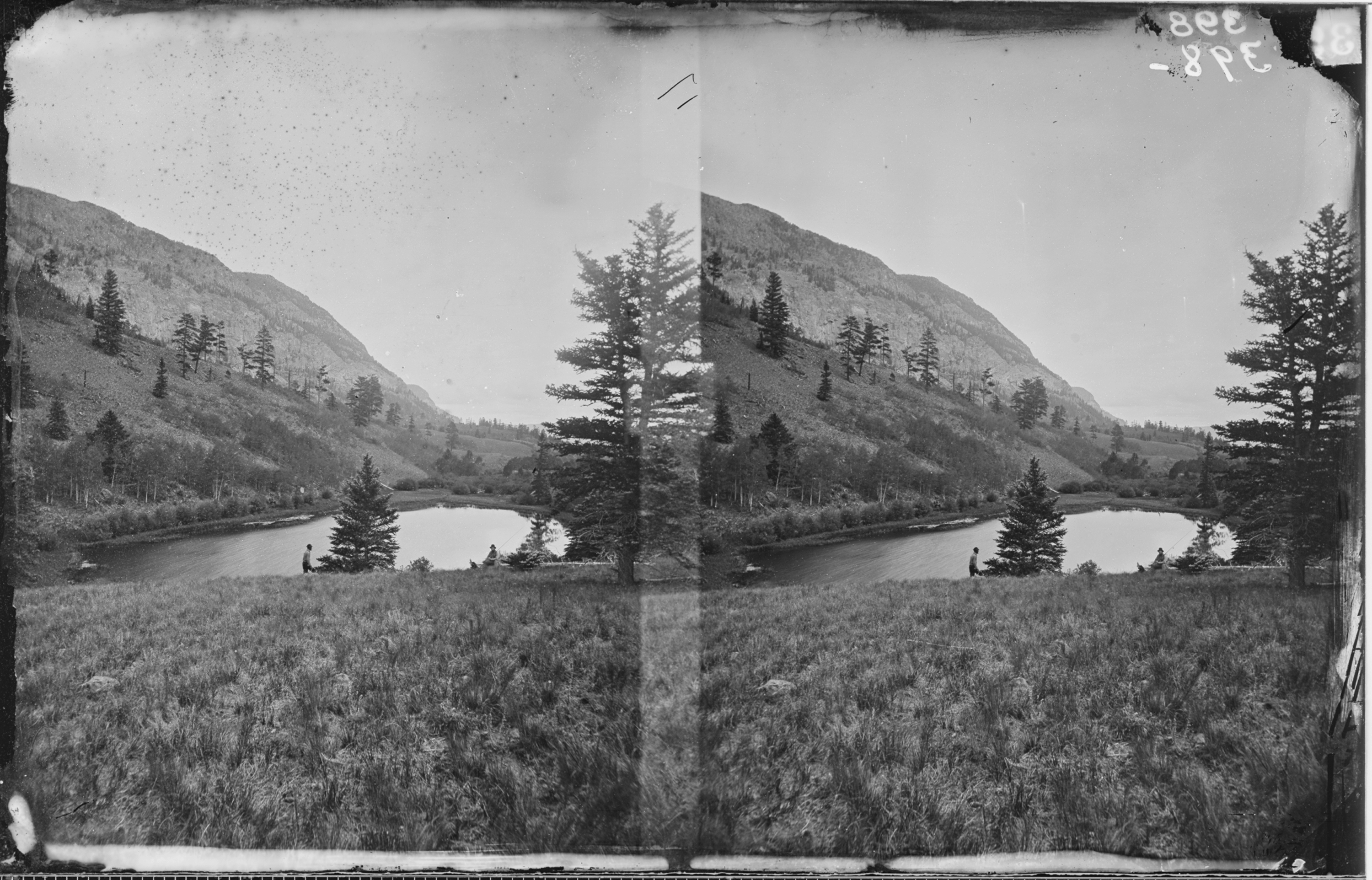 BEAVER LAKE, CONEJOS CANYON, COLORADO - NARA - 524037