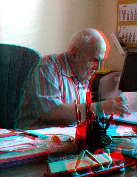 2011 05 Edvard Chubaryan 75th Birthday 04 Anaglyph Red Cyan Stereo