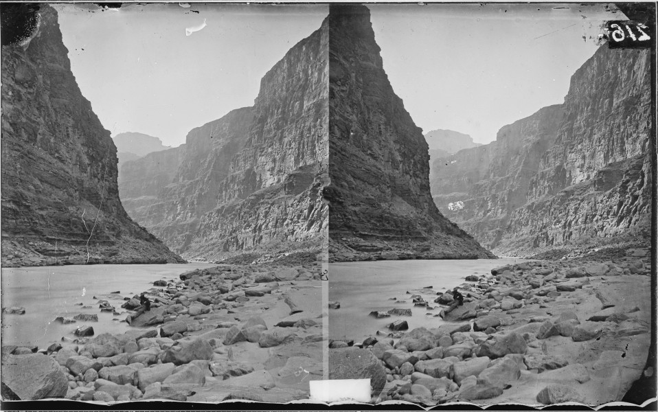 GRAND CANYON, MOUTH OF KANAB WASH OR CREEK, COLORADO RIVER - NARA - 523981