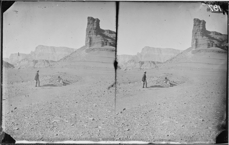 HEADLAND OR PLATEAU, COLORADO BASIN NEAR PARIA NORTH OF COLORADO RIVER, CHOCOLATE BUTTE - NARA - 523962