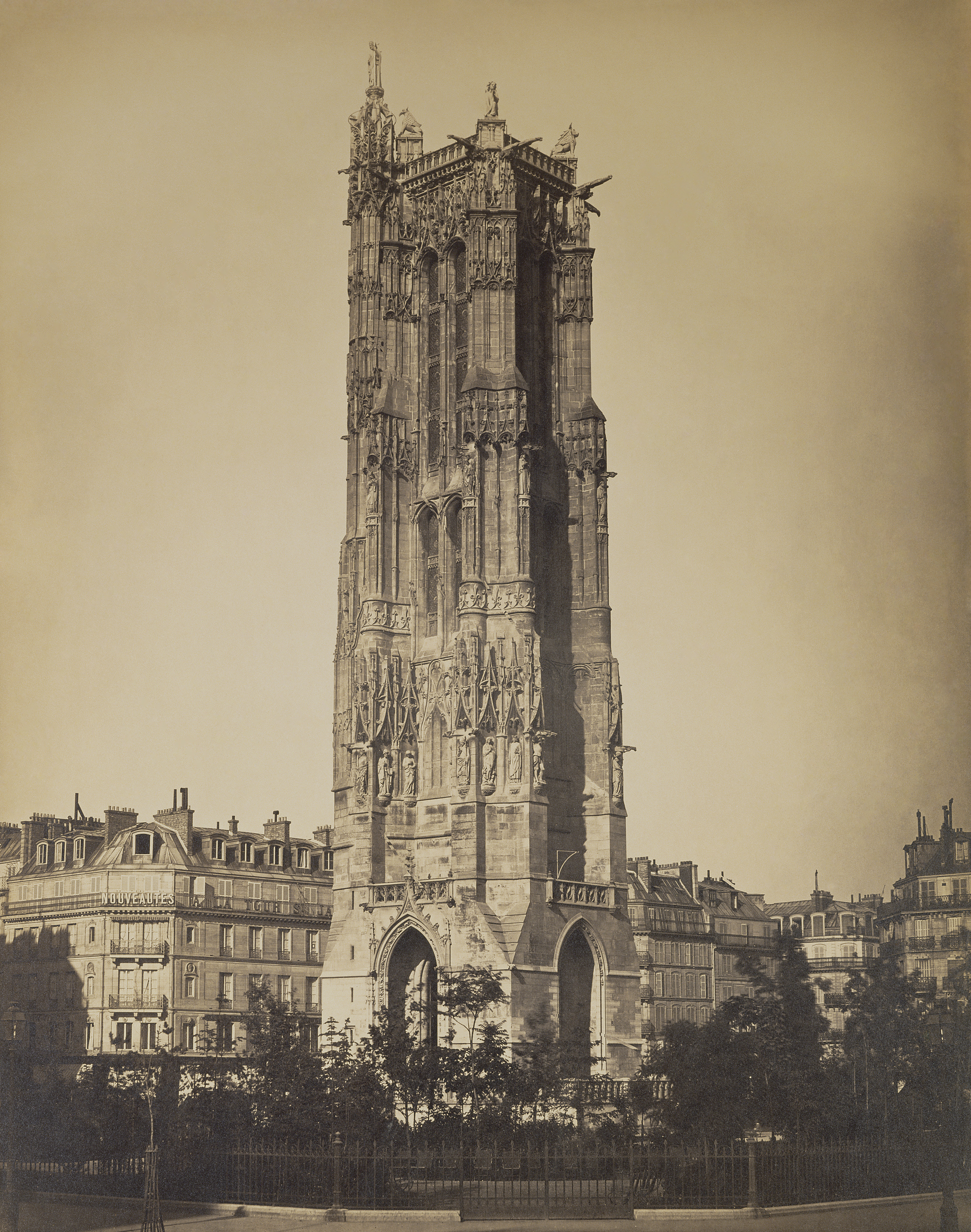 Gustave Le Gray, The Tour St-Jacques, 1859