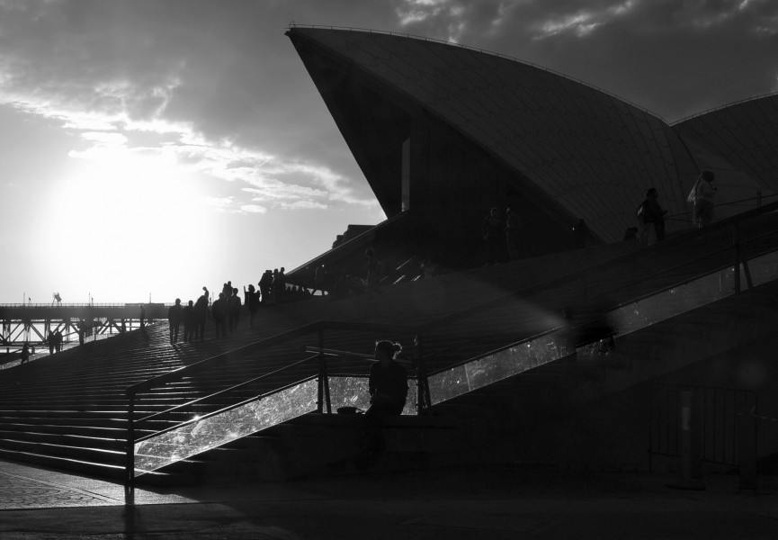 (1)Sydney Opera House sunset-3