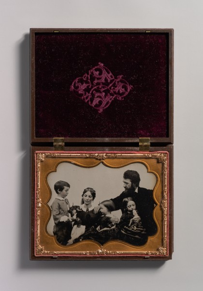 -Mother and Father with Three Children, a Boy and Two Girls- MET DP700289