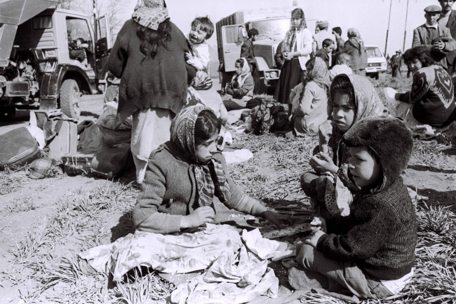 Azerbaijani refugees from Karabakh 26