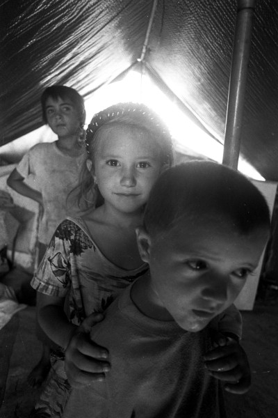 Azerbaijani refugees from Karabakh 3