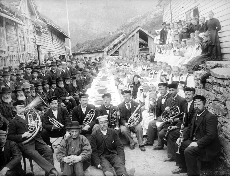 Celebrations, Flatekval, 1898.