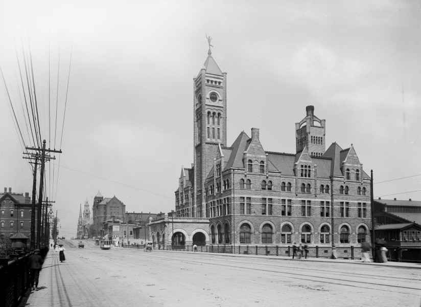 Detroit Publishing - Union Station, Nashville, Tenn.
