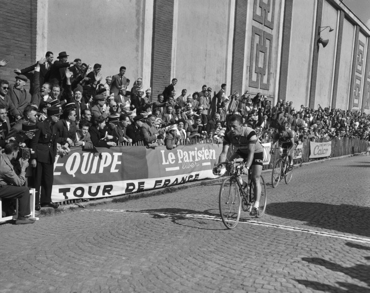 Fred De Bruyne, Stage 2, Tour de France 1956