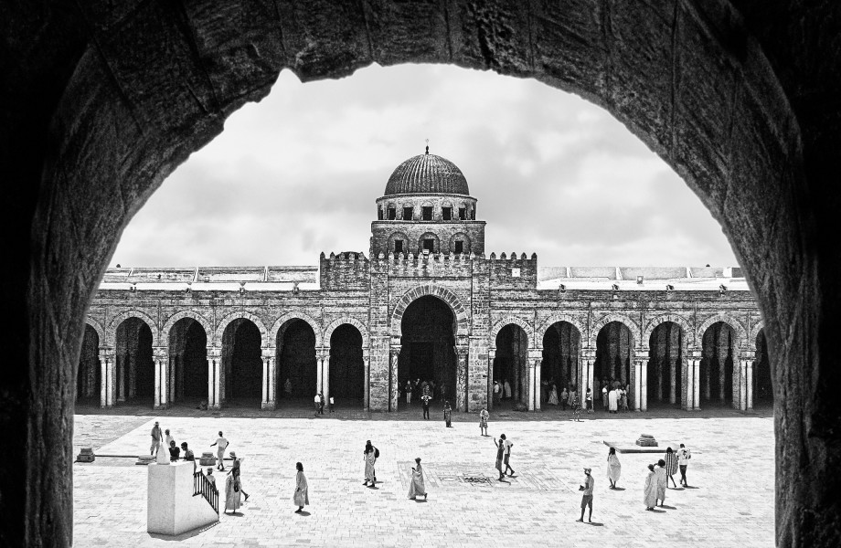 Great Mosque of Kairouan, a view to remember