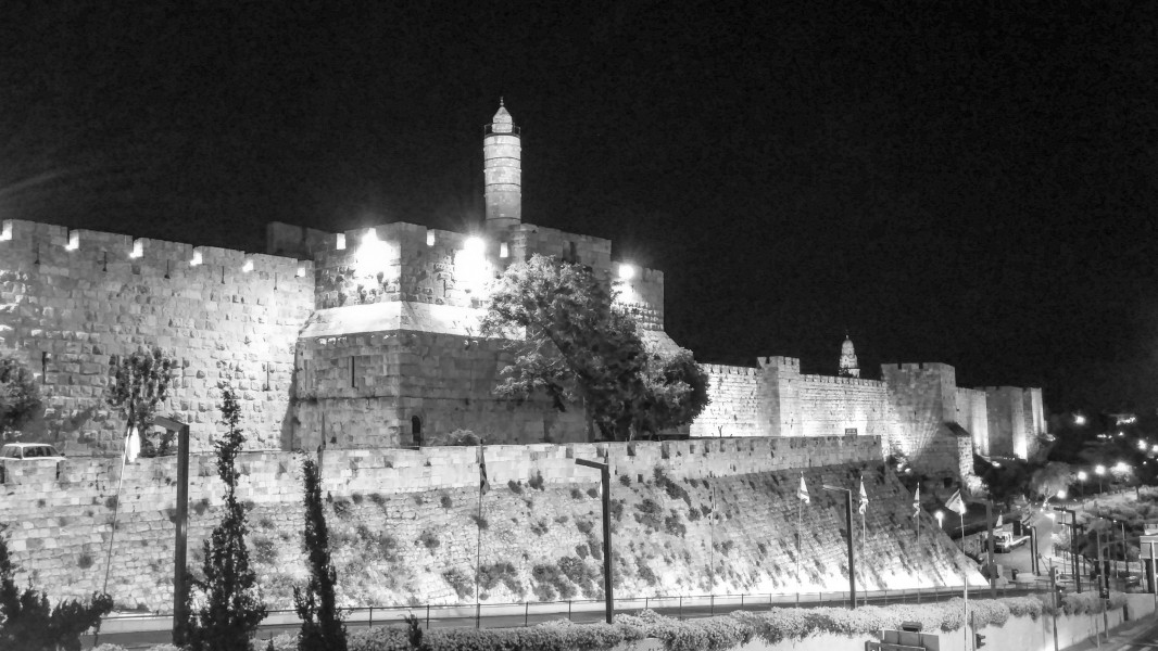 Jerusalem, The Old city, City walls-2