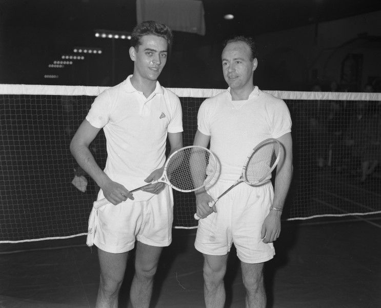 JH Hansen and Arne Rasmussen 1957