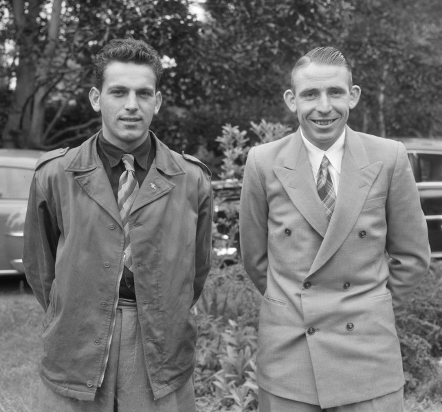 Jules Maenen and Nico van Est 1954