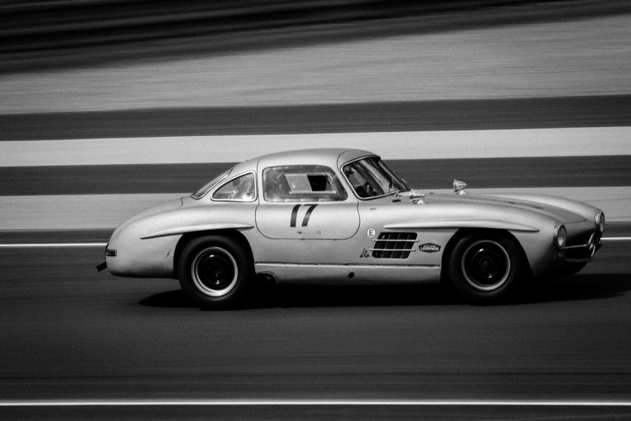 Mercedes 300SL Gullwing (1955) (18245326173)