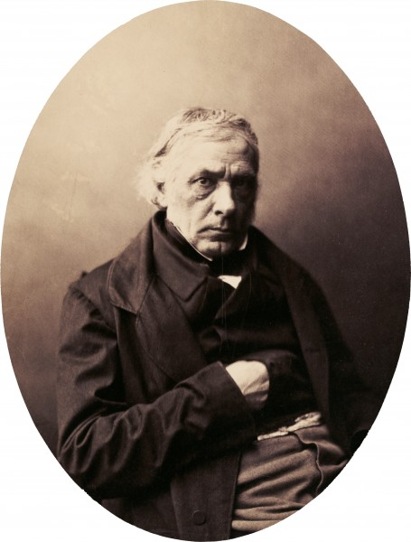 Victor Cousin by Gustave Le Gray, late 1850s