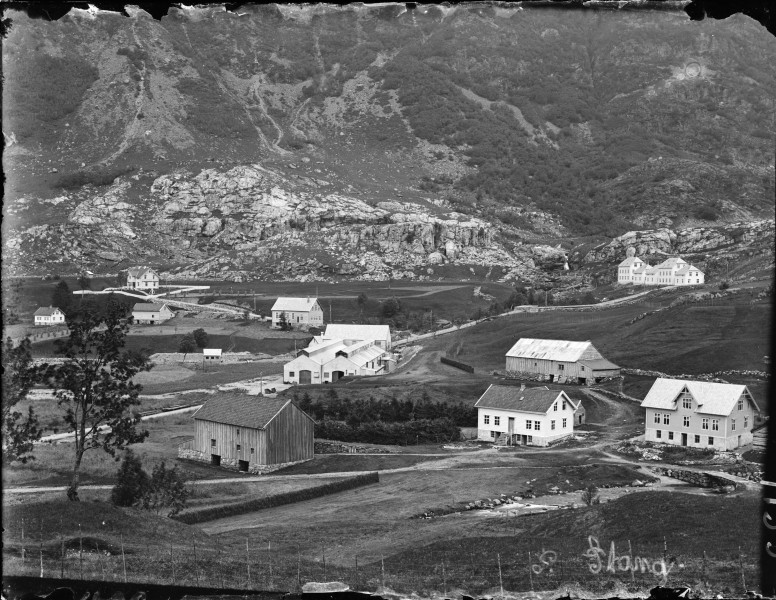 View of Stongfjorden ca. 1910