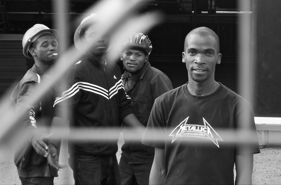Workers take time out to interact (Newtown, 2010)